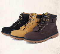 meilleures chaussures d'automne achat en gros de-Best-seller homme Martin bottes à l'automne et l'hiver nouvelles chaussures de taille de la mode pour les bottes pour hommes
