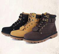 ingrosso migliori scarpe per gli uomini invernali-Il best-seller uomo Martin stivali in autunno e inverno nuove scarpe di moda per gli stivali da uomo Vendite all'ingrosso