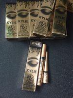 Wholesale Eyelashes Extension Mascara - kylie jenner cosmetics Makeup 3D Fiber EyeLashes Extension Mascara+ Gel Eyeliner 2 in 1 Sets Waterproof B279