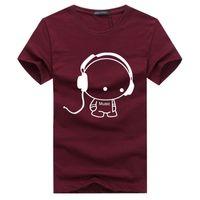 Wholesale Fashion V Neck Tshirt - 2017 New Letter Print T Shirt Mens Black And White Comic Con Cosplay T-shirts Summer Skateboard Tee Boy Skate Tshirt Tops