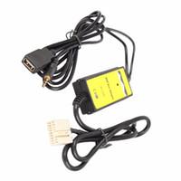 usb araba arabirimi toptan satış-Araba Ses Dijital Müzik Aux Kablosu MP3 USB Arabirim Adaptörü Honda 2.4 beyaz Camry Corolla bağlamak