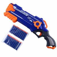 Wholesale Dart Rifles - Pistol Gun Plastic Toy Gun Sniper Rifle Orbeez Arme Blaster With 12 Darts Kids Toys For Children Birthday Gifts Outdoors Toys