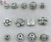 Free Ship 10Pcs Tibetan Silver figure Spacers Beads Fit Jewelry Making 9.5x10mm