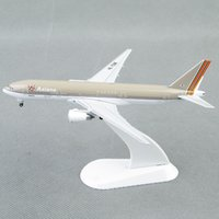 Wholesale Diecast Model Aircraft - StarJets 1:500 Scale Mini Asiana Airlines Boeing 777-200 Diecast Aircraft Airplane Model Airplane Toys Model Gifts Collection C