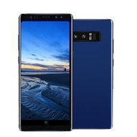 Wholesale black smartphones - ERQIYU Goophone Note8 cell phones shown 4g lte gsm 13.0mp MTK6592 Octa Core 2560*1440 Android 7.0 unlocked 6.2inch GPS Smartphones