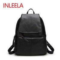 Wholesale Cell Phones Cost - Wholesale- Inleela Most Cost-effective Backpack New Arrival Vintage Women Shoulder Bag Girls Fashion Schoolbag High Quality Women Bag
