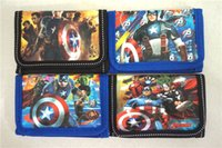 Hot Sale! 24pcs Cute Cartoon Coin Purse Crianças Zip Change Purse Wallet Movie The Avengers Kids Girl Women Pouch Bolsa
