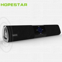 Wholesale Home Theater Sound - Touch bluetooth speaker HIFI wireless subwoofer Home Theater Loudspeaker stereo rubber surround support USB TF AUX power bank for TV PC NFC