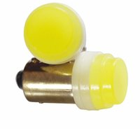 Wholesale Ceramics Dc - Super Bright BA9S T4W Ceramic 3D COB LED Car License Plate Light Bulb White DC 12V