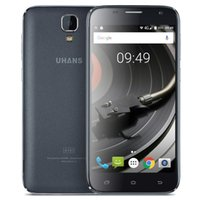 Wholesale Cheapest Android 4g - Cheap 4G LTE UHANS A101 64-Bit Quad Core MTK6737 1GB 8GB Android 6.0 Marshmallow 5.0 inch IPS 1280*720 HD 8.0MP Camera GPS WiFi Smartphone