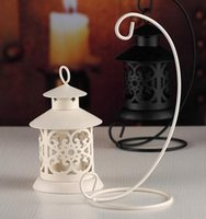 Wholesale Arts Crafts Activities - Europe Style Hollow Out Candle Holders Wrought Iron Candlestick Retro Wedding Creative Household Crafts Decorations Birthday Gift Ornaments