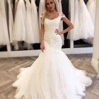 precio de los vestidos de boda modernos de la sirena del de boda
