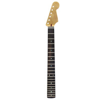 "Wholesale Strat Necks - High Quality 21 Fret Guitar Neck Canadian Maple Rosewood Fingerboard 12"" Matte Satin For FD ST Strat Style Guitar"