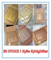 Wholesale Natural Salt - Free Shipping 6 Color Kylighter Kylie Highlighters Kylie Cosmetics Strawberry Shortcake Candy Cream Salted Caramel Banana Split Kylighter