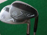 Wholesale ground covering - X C-Grind Wedges C-Grind Golf Wedge Golf Clubs 52 56 60 Degrees Steel Shaft With Head Cover