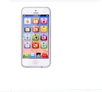 Wholesale Iphone Toy Learning Phone - New Childrens Y-Phone Educational Learning Kids iPhone TOY 4s 5 Christmas Gift Y-Phone Educational Learning Kids wholesale price