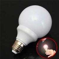 Wholesale Magic Tricks Light Bulb - Wholesale- Hot Magic Light Bulb Addams Family Uncle Fester Trick Costume Joke Mouth LED G0082 Funny Toy