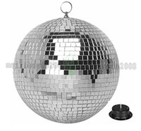 Wholesale crystal ball 12 lights resale online - 2017 NEW FT inches Reflective Glass Ball Light LED Disco Crystal Ball Mirror Stage Lighting Effect MYY