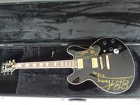 Wholesale Guitar King - BB King Jazz guitar Golden hardwares top Lucille signature B B King lucille king of blues