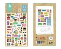 téléphones cellulaires coréens achat en gros de-Vente en gros - 1 PCS Travel Story autocollants coréens Sonia Sticker téléphone portable agenda calendrier calendrier autocollant décoratif Flakes 2010