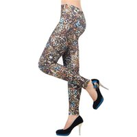 Wholesale Sale Printed Jeggings - Wholesale- T2 Legging Multiple printed Leggings Adventure Time Womens leggings women Fashion Sexy Skinny Elastic Pants Hot Sale jeggings
