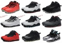 Wholesale Girls Winter Boots Discount - Discount Kids Basketball Shoes Retro 10 Boys Girls Sneakers Children's Athletic Youth Sports kids Children shoes Size 28-35