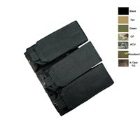 Mag Holder Cartella Custodia protettiva AR M4 5.56 / .223 Pistola pistola Tactical MOLLE Triple Magazine Pouch