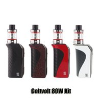 Wholesale Volcano Battery - 100% Orignal Vivappower Coltvolt 80W Kits VW 2200mAh Battery Mod With 0.96inch OlLED Screen 3ml Volcano Atomizer