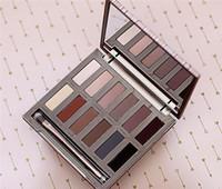 palette grundlagen farbe lidschatten großhandel-Eyeshadow HOT Make-up ULTIMATIVE BASICS Lidschatten Matte Farben Lidschatten 12 Farbe Palette DHL-freies Verschiffen