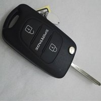 Flip Folding Remote Key Shell Case Blank Cover pour Kia Sportage 3 boutons