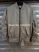 Wholesale Mens Jacket Puff - Wholesale- victory689 high street men clothes brand clothing mens jackets kanye west pilot flight satin ma1 bomber FOG JUSTIN BIEBER jacket