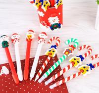 Wholesale Christmas Ball Pens - Cute Christmas Snowman Ball Point Pens Writing Pens School Office Supplies Christmas Present free shipping