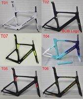 Wholesale Carbon Road Frame 48cm - 2017 more color brand available colnago concept road bike carbon frame full carbon fiberbicycle frame 48 50 52 54 56cm T1000 carbon frameset