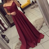 Wholesale New Fashion Sexy Cocktail Strapless - Fashion style strapless gown collar high-end custom wine red dress 2017 new quality cocktail party dress