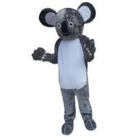 Wholesale Mascot Costume Koala - Koala Mascot Costumes Cartoon Character Adult Sz 100% Real Picture