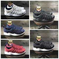 Wholesale Anti Shock Sneaker - Air Zoom Spirimic black white sneaker men's hiking shoes anti-skid wear-resistant, shock-resistant and shockproof sneakers
