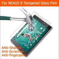 tablette pc 8.9 großhandel-Großhandels-Ultra-thin gehärtetem Glas Für LG GOOGLE NEXUS 9. 8.9