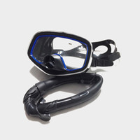 Wholesale Scuba Kit - Wholesale-2016 Time-limited Snorkel + Mask For Scuba Diving Swimming Submersible Underwater Set Kits Silicone MS24619
