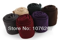 Wholesale Stirrup Pants For Women - Wholesale- New spring autumn and winter brushed fiber plus velvet thermal ankle length slim leggings for Women pants stirrup leggings