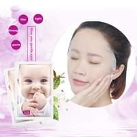 Wholesale Acne Babies - 2016 Limited Real 10 Genuine Baby Pregnant Women Silk Mask Paste Spring And Summer Replenishment Moisturizing Shrink Pores Whitening Acne
