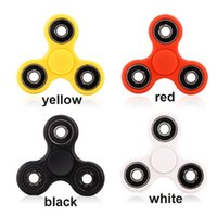 Wholesale Toy Ca - CA Stock ABS Metal Hand Spinner Fidget Spinner Hand Spinning Toy EDC Focus Time Killer Stress Reliever Toy Gifts Perfect for Kids