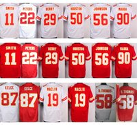 Wholesale Alex Smith Jerseys - Wholesale #87 Travis Kelce Jersey Cheap #11 Alex Smith Red #19 Jeremy Maclin White 29 Eric Berry Stitched Throwback 58 Derrick Thomas Jersey
