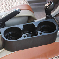 Wholesale cup holders cars resale online - Car Auto Cup Holder Portable Multifunction Vehicle Seat Cup Cell Phone Drinks Holder Glove Box Car Interior Organizer Black