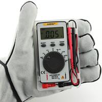 Wholesale Dc Ac Pocket Digital Multimeter - Pocket Digital Auto Range Multimeter Backlight AC DC Voltage Current Meter SA847