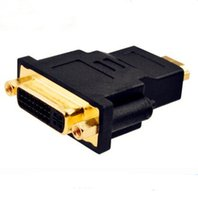 Wholesale Hdmi Transfer - hdmi to div 24 + 5 connector High-definition TV line interface Transfers between Conversion head for DHL
