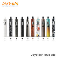 Wholesale Ego New Style Battery - Joyetech eGo Aio Kit New Colors with 2.0ml Capacity 1500mAh Battery Anti-leaking Structure and Childproof Lock All-in-one Style Kit