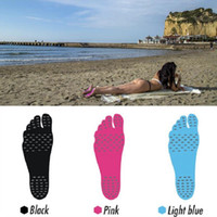 Wholesale Nakefit Soles Invisible Beach Shoes Beach Foot Feet Pads foot pads Feet beach sock waterproof pad for walking