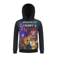 Wholesale Teddy Bears Shirt - Five nights at five night harem freddy teddy bear Children's fleece spring cuhk children's T-shirt