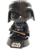Wholesale Bobble Head Darth Vader - LilyToyFirm Funko POP Star Lily Wars Darth Vader 01# Bobble Head Vinyl Action Figure 10cm PVC
