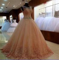Wholesale Little Miss Princess Dresses - Princess Evening Dresses Ball Gown 2017 Vestidos De Festa Curto Para Casamento Cheap Formal Prom Dresses